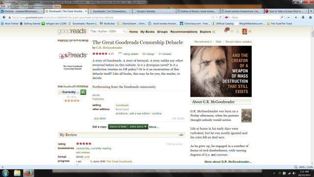 The Great Goodreads Censorship Debacle