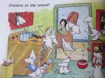 Chickensrescuedinner