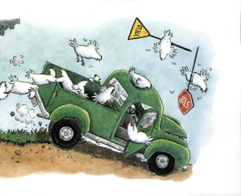 chickensrescuedriving
