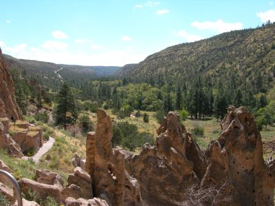 ruins valley view