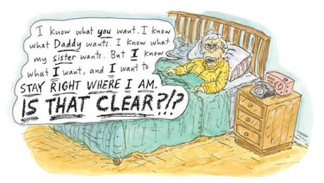 Roz Chast stay where I am