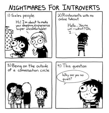 Introvert nightmare