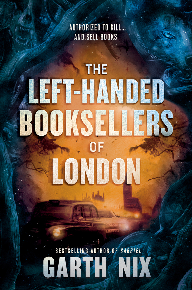 The Left Hand Booksellers of London by Garth Nix